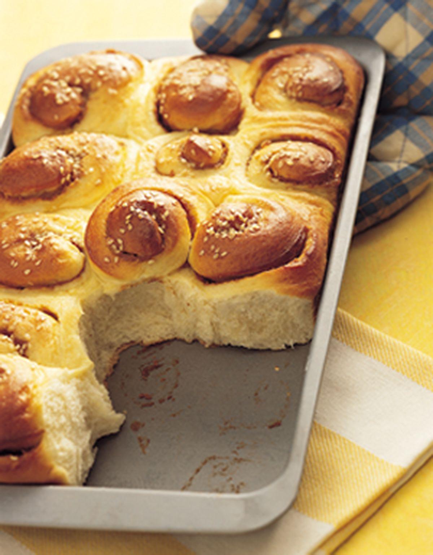 食譜:花生奶油麵包