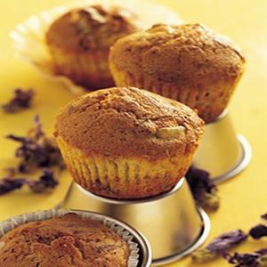 紫羅蘭麥芬蛋糕