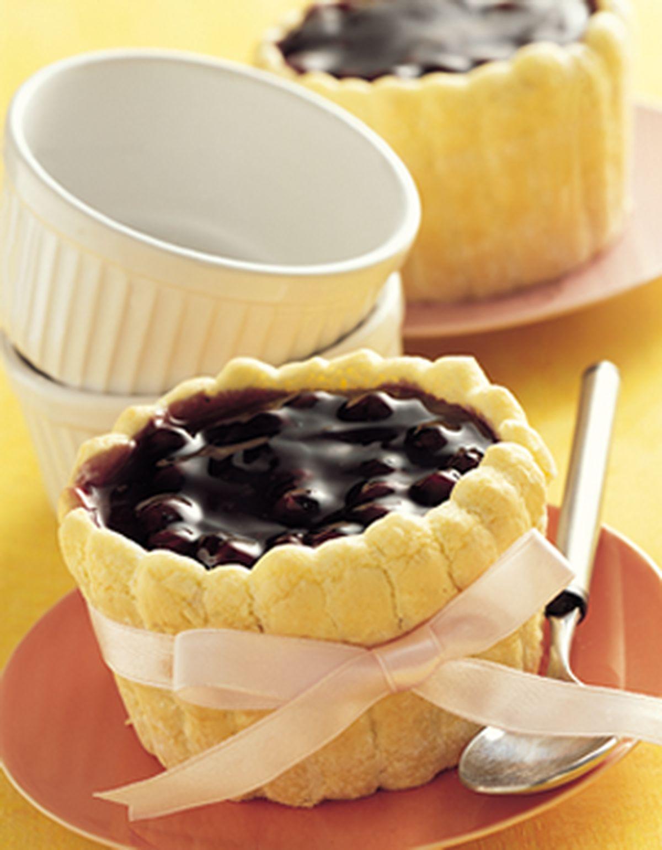 食譜:藍莓慕斯