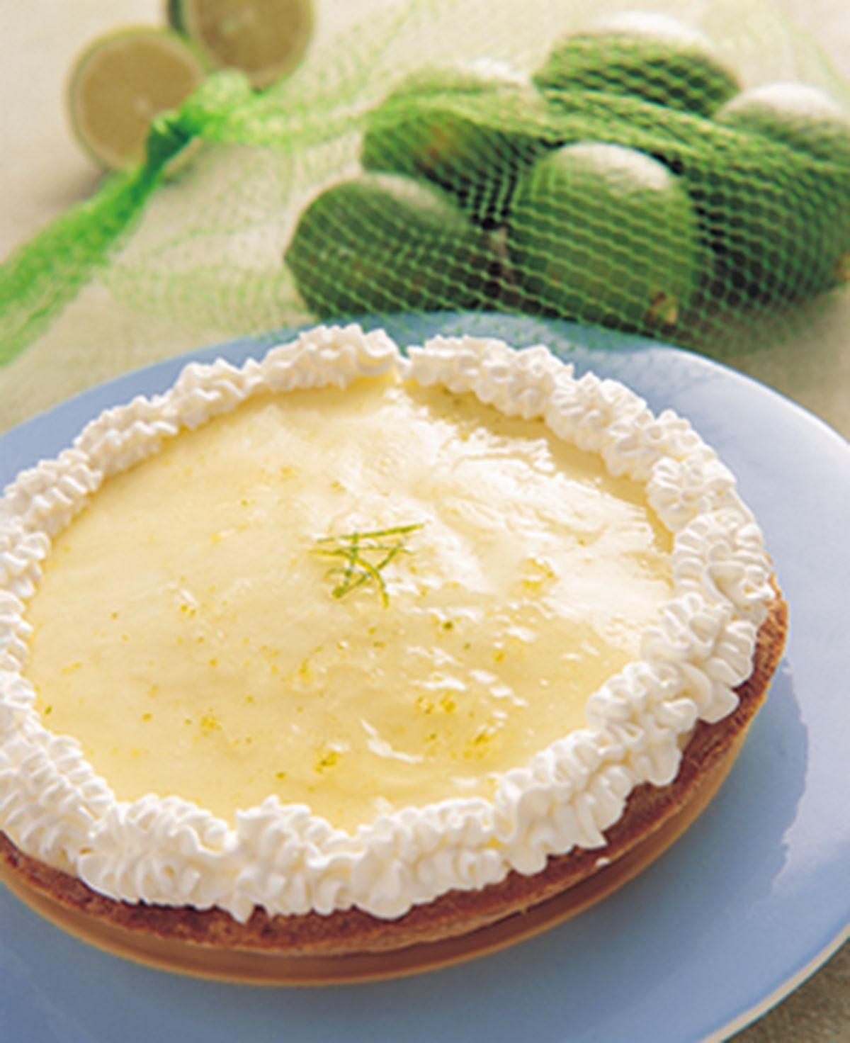 食譜:檸檬布丁派