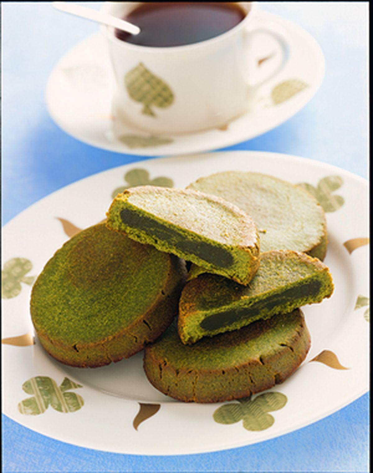 食譜:綠茶酥