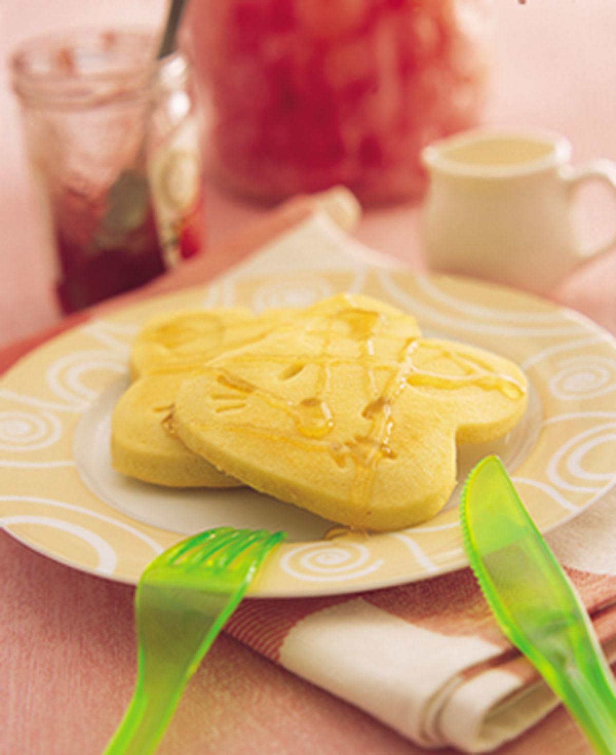 食譜:小白兔鬆餅