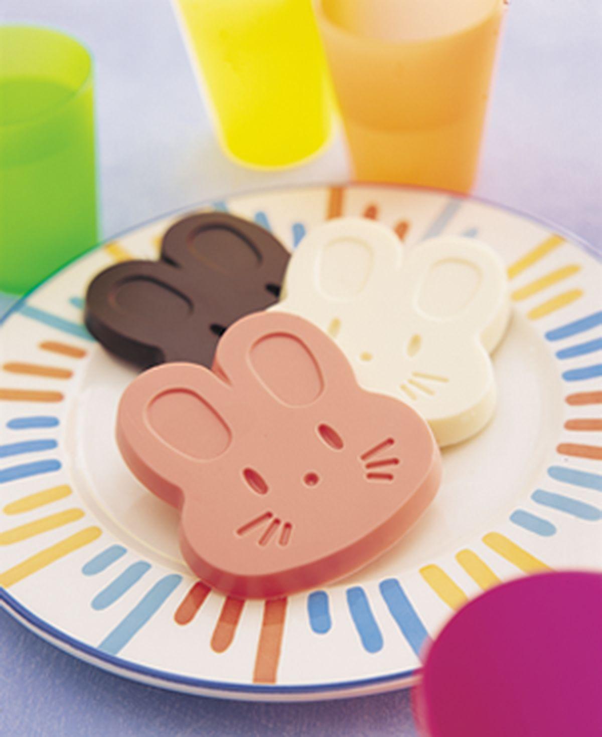食譜:兔寶寶巧克力