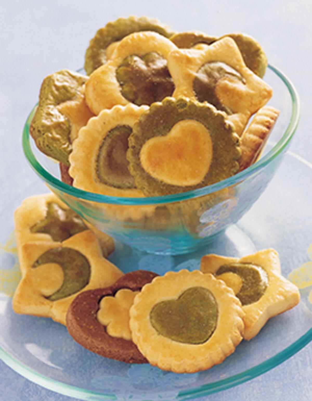 食譜:雙色餅乾