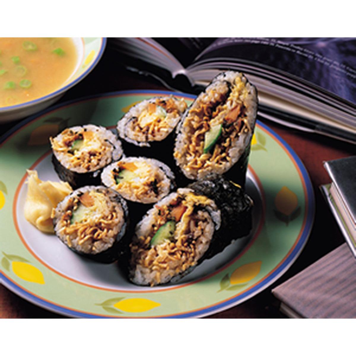 食譜:壽司泡麵卷