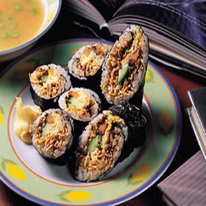 壽司泡麵卷