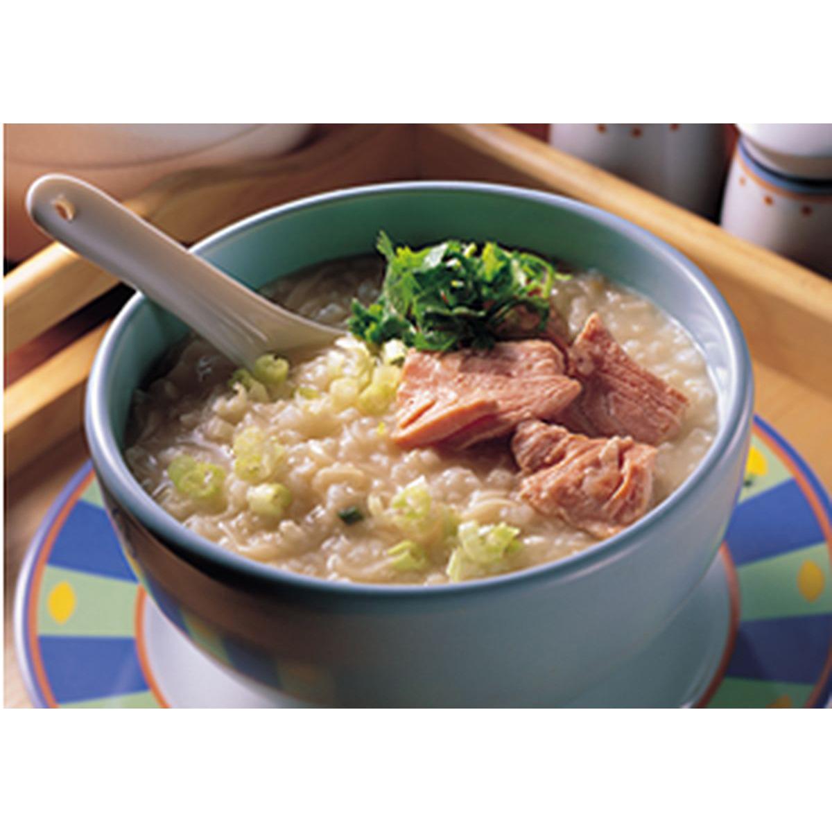 食譜:魚片泡麵粥