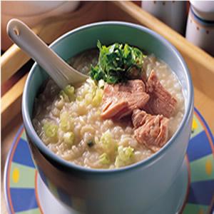 魚片泡麵粥