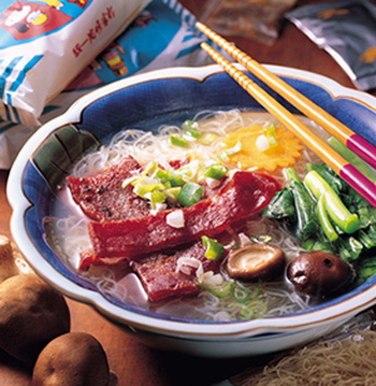 食譜:肉乾泡麵