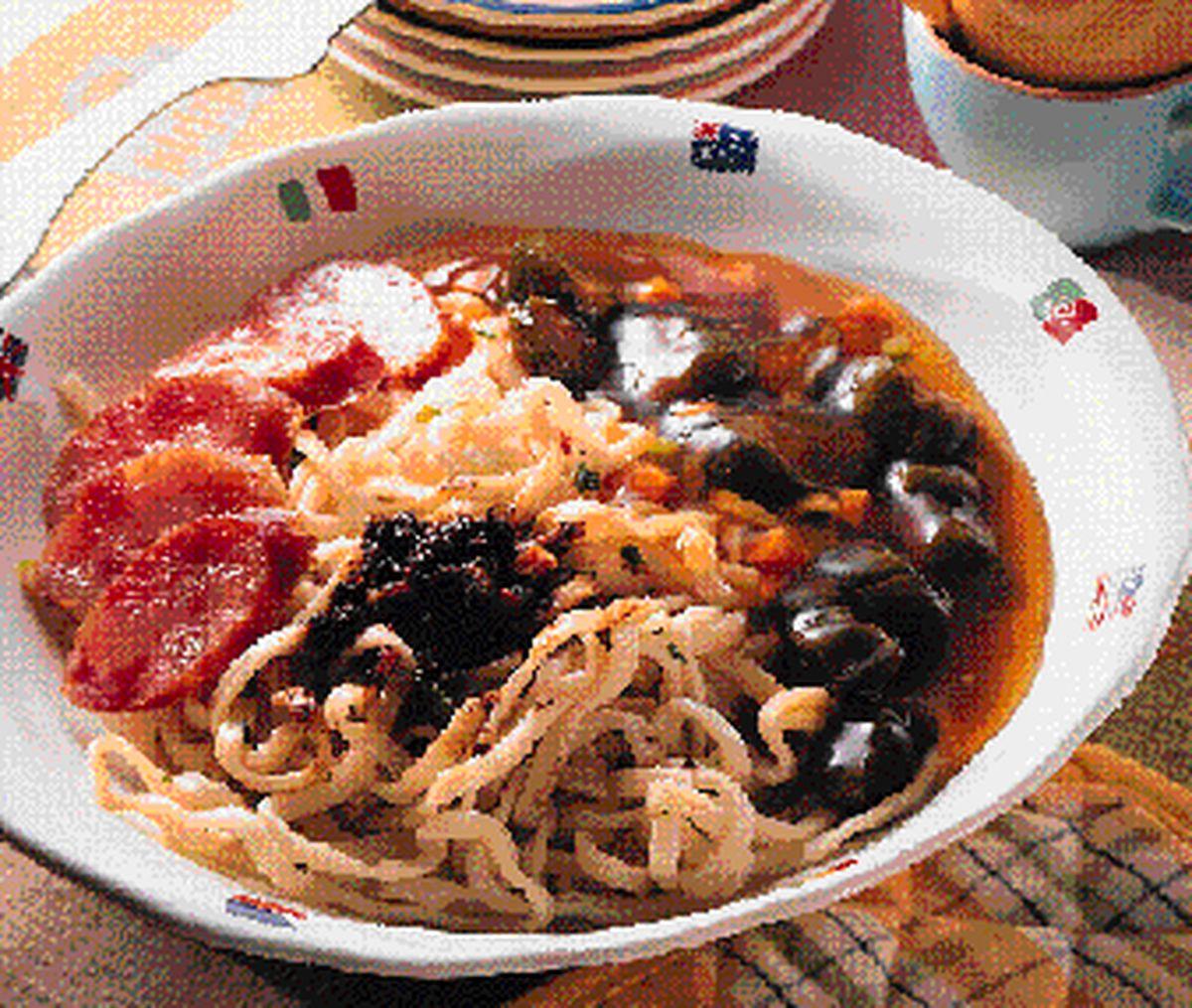 食譜:醬瓜燴麵