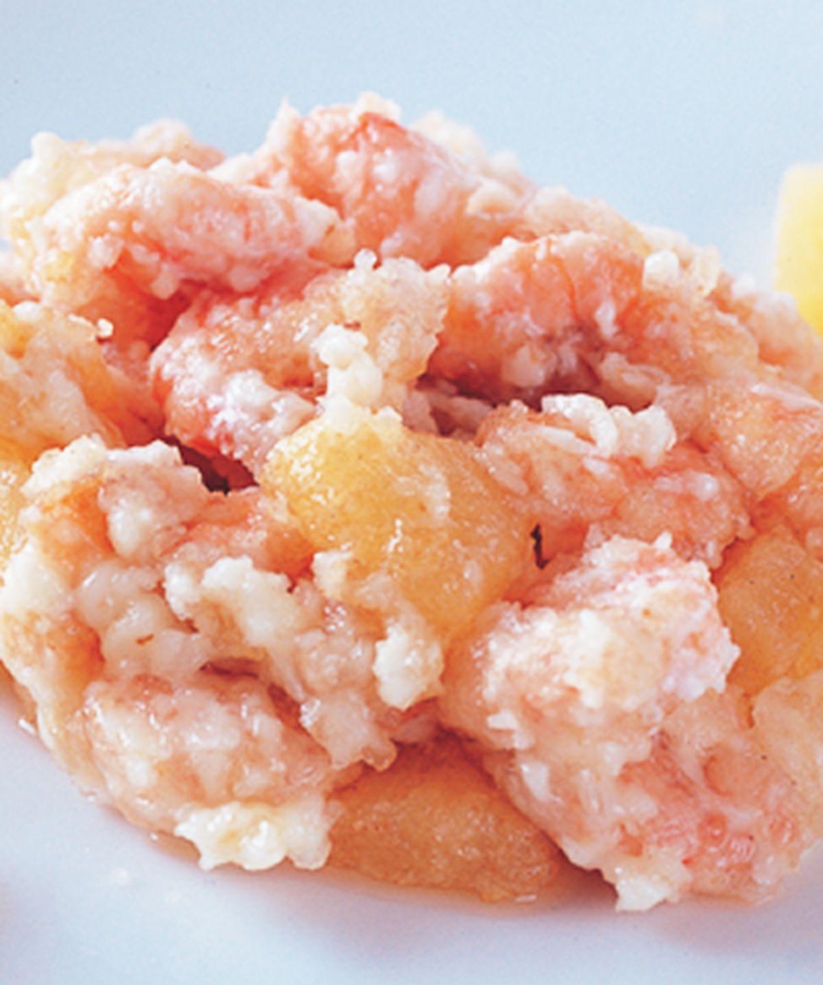 食譜:鳳梨拌炸蝦仁