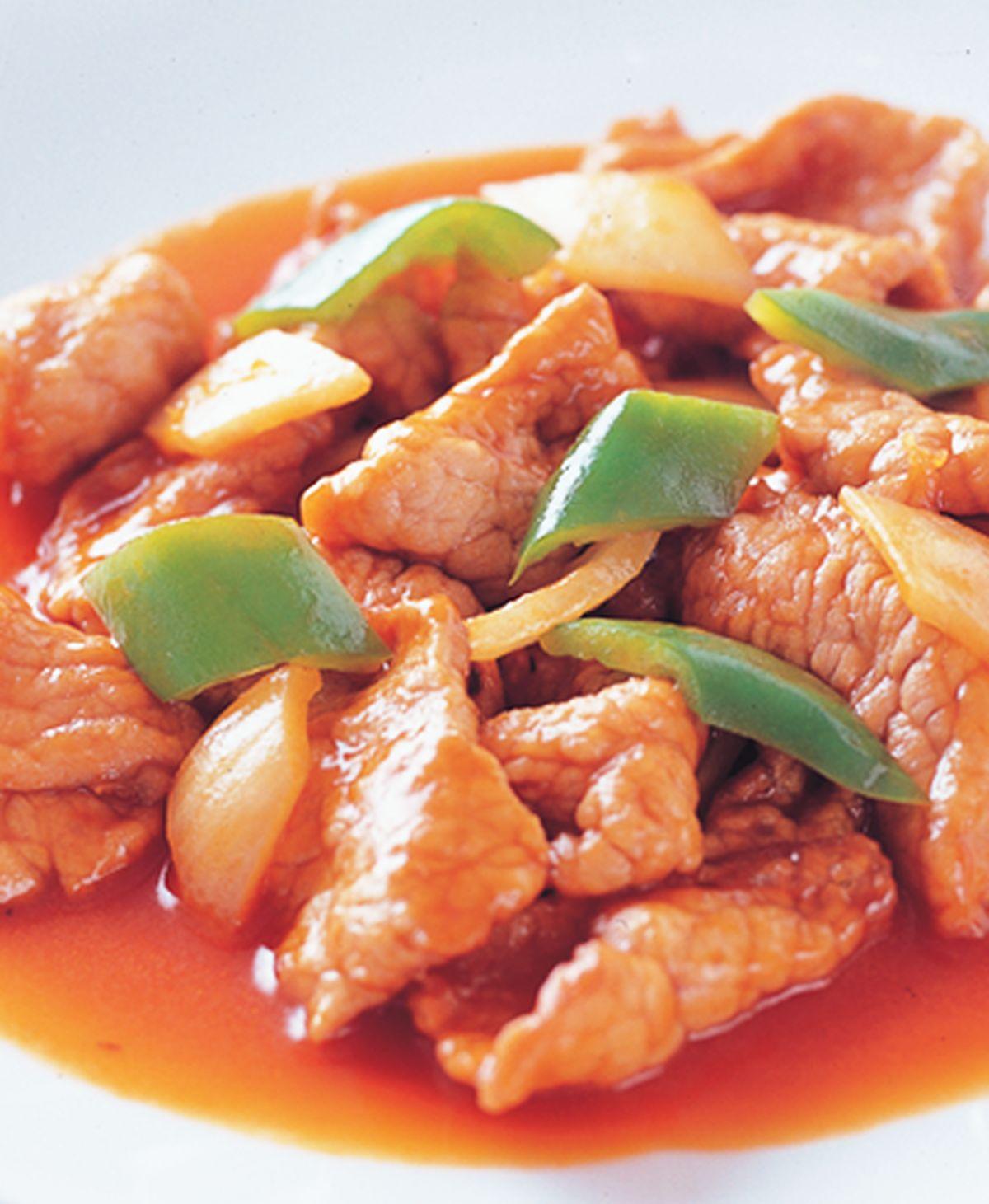 食譜:茄汁肉片