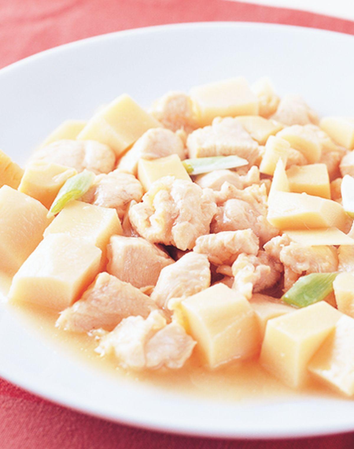 食譜:雞肉燜筍塊