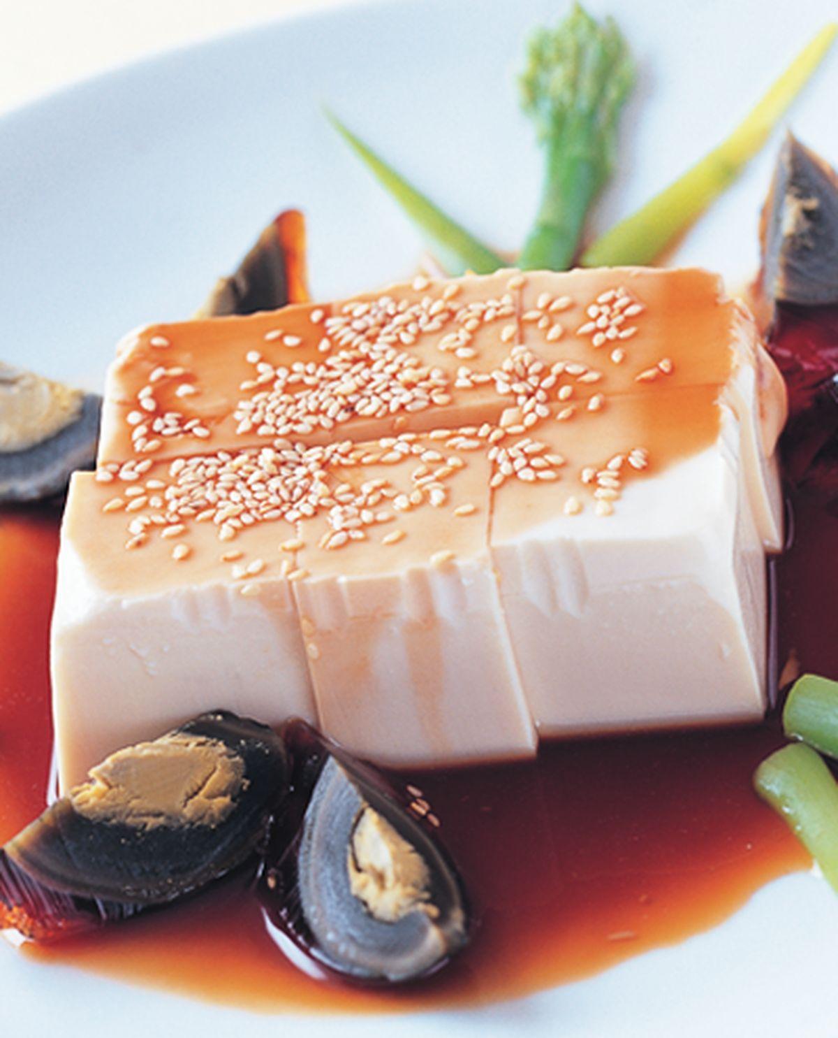 食譜:皮蛋芝麻拌豆腐