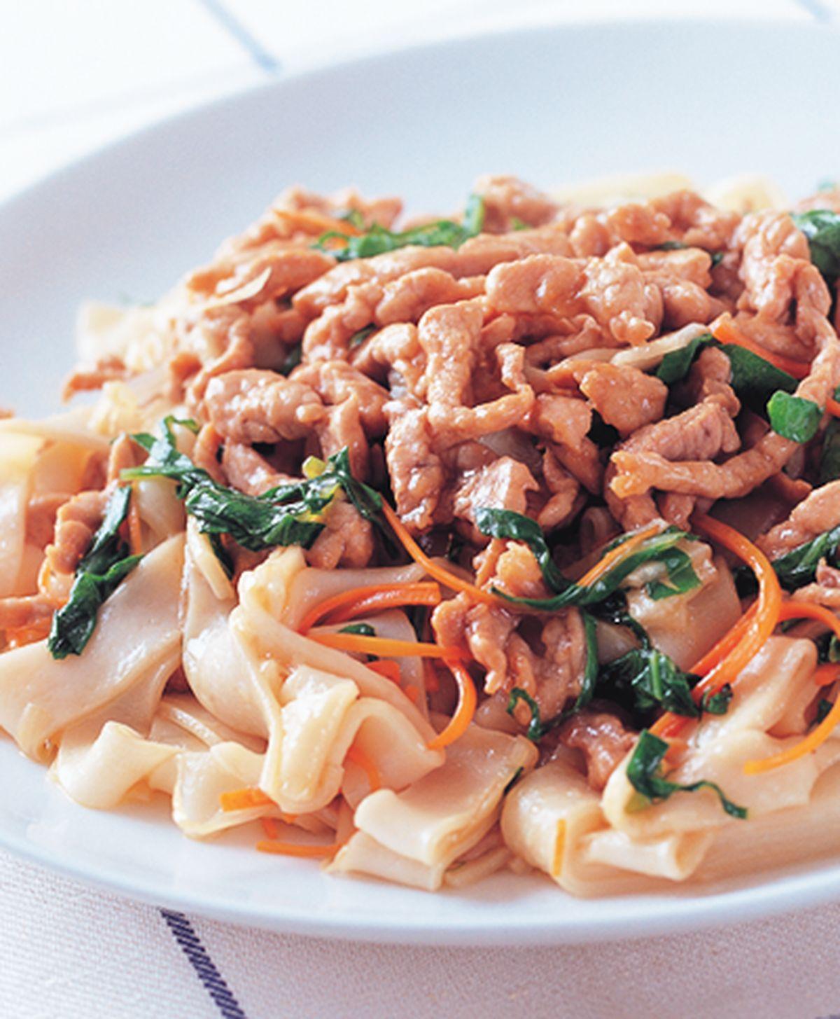 食譜:肉絲炒板條