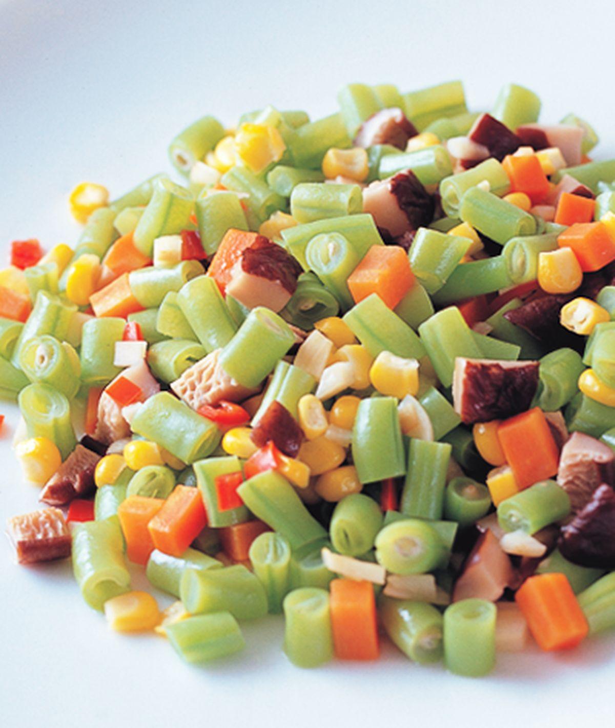 食譜:三色四季豆