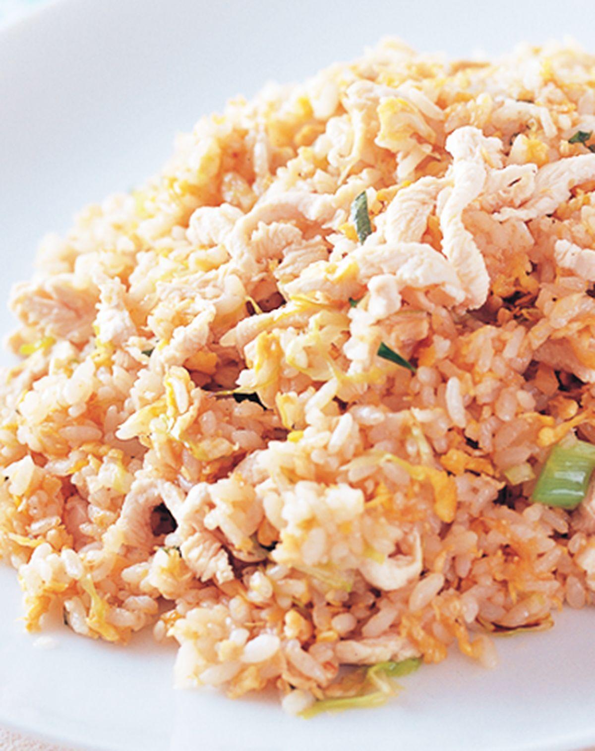 食譜:雞絲蛋炒飯