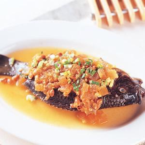 鹹冬瓜豆醬蒸魚