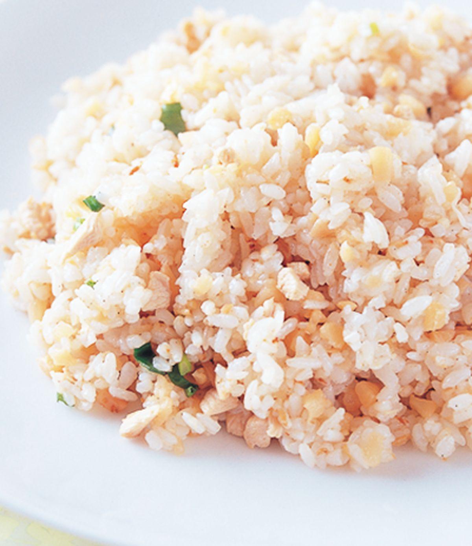 食譜:蘿蔔乾雞粒炒飯