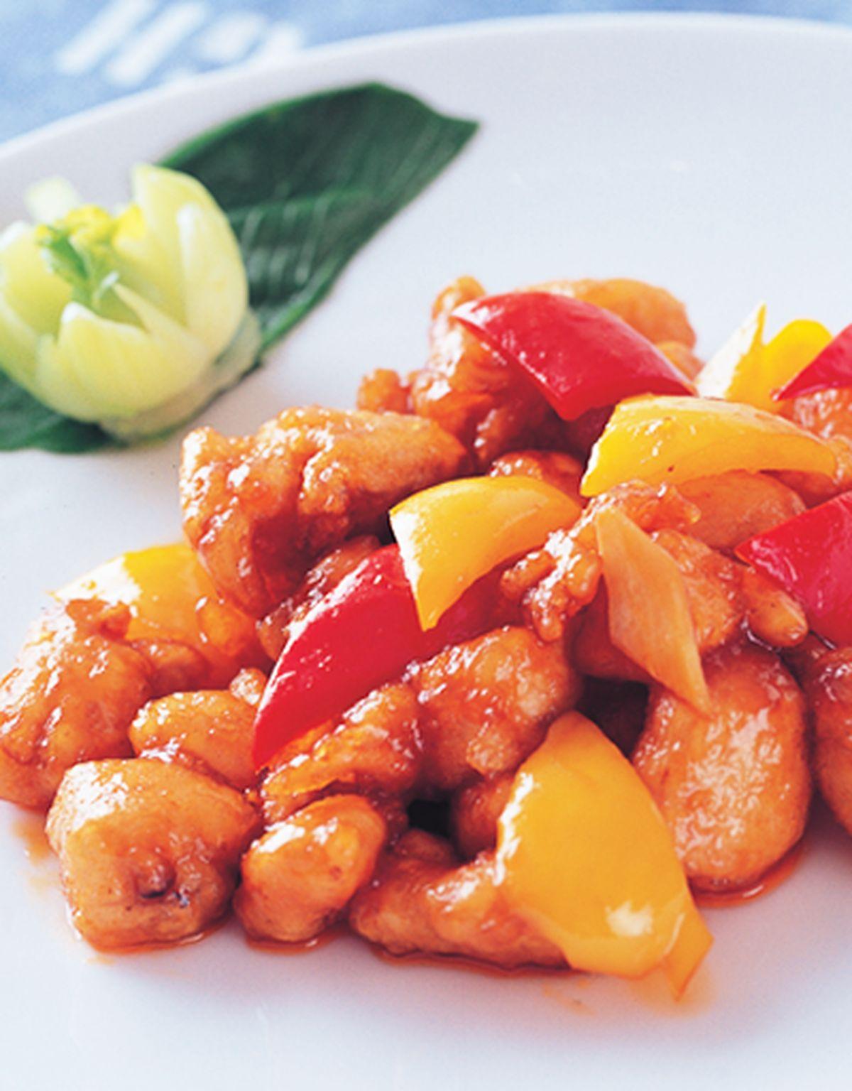 食譜:炒咕咾雞脯