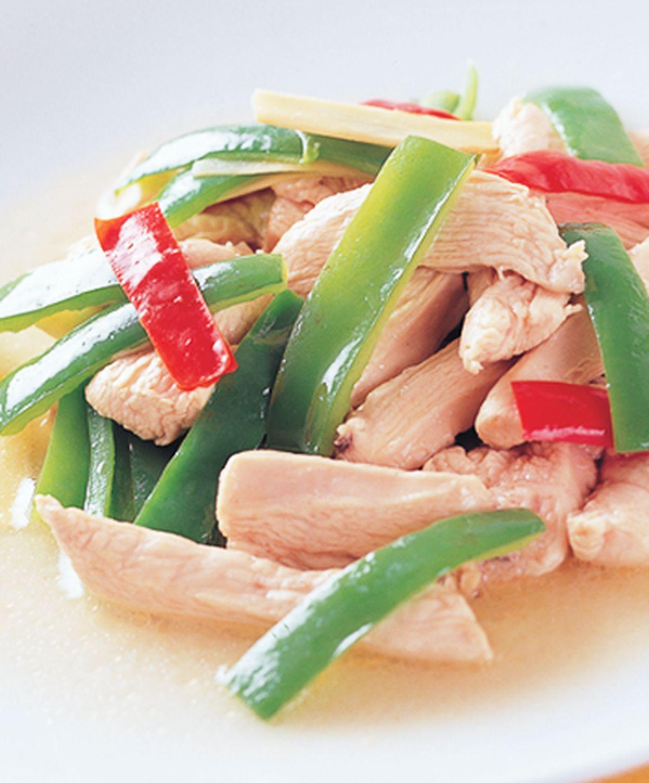 食譜:青椒炒雞柳