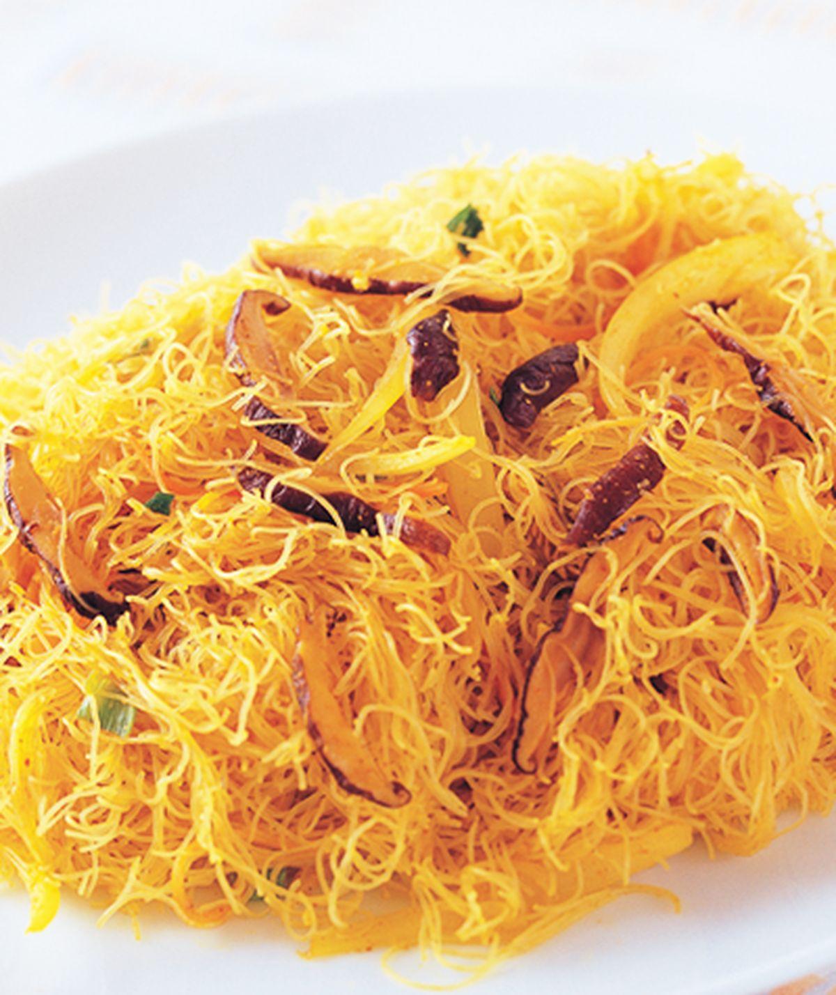 食譜:三絲炒咖哩米粉
