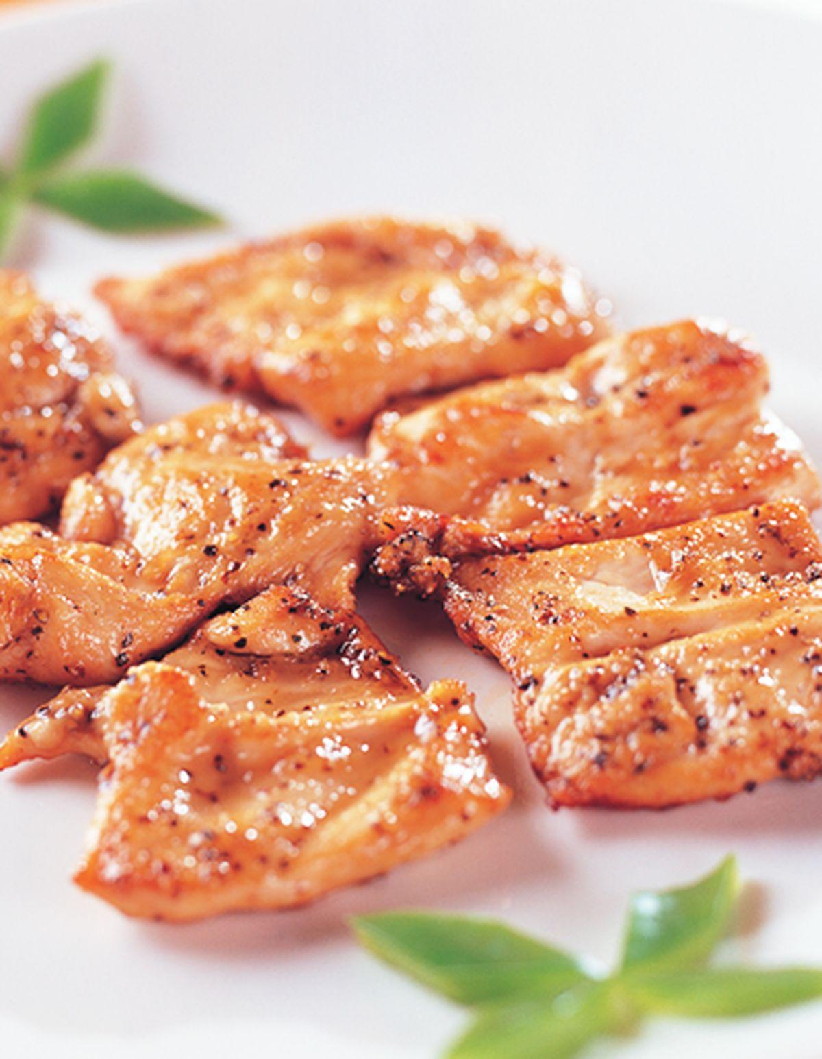 食譜:煎黑胡椒雞脯