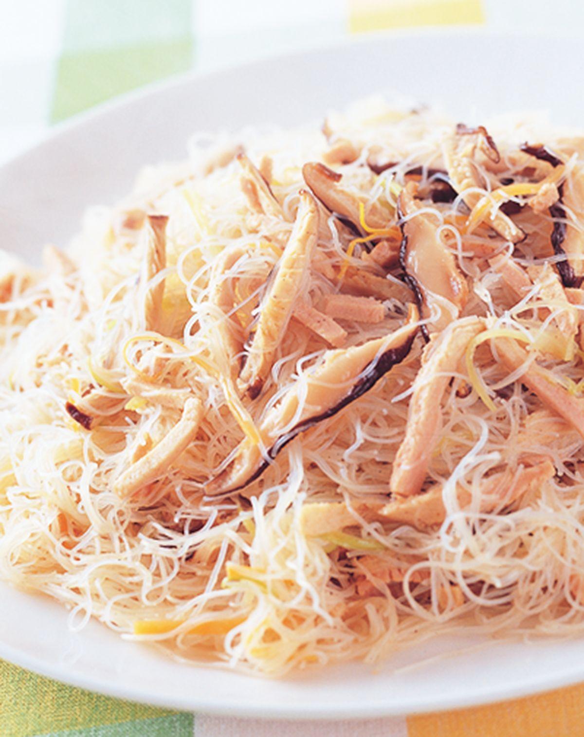 食譜:素料炒米粉