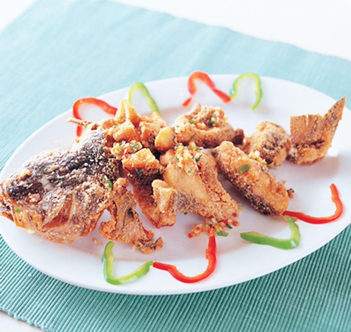 食譜:椒鹽鱸魚段