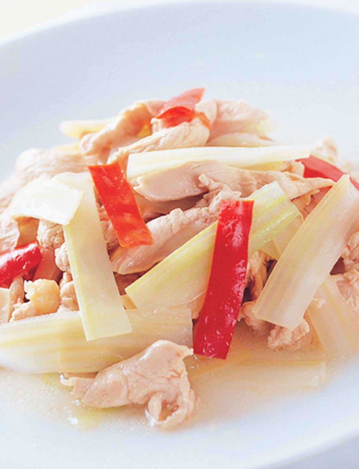 食譜:西芹炒雞片