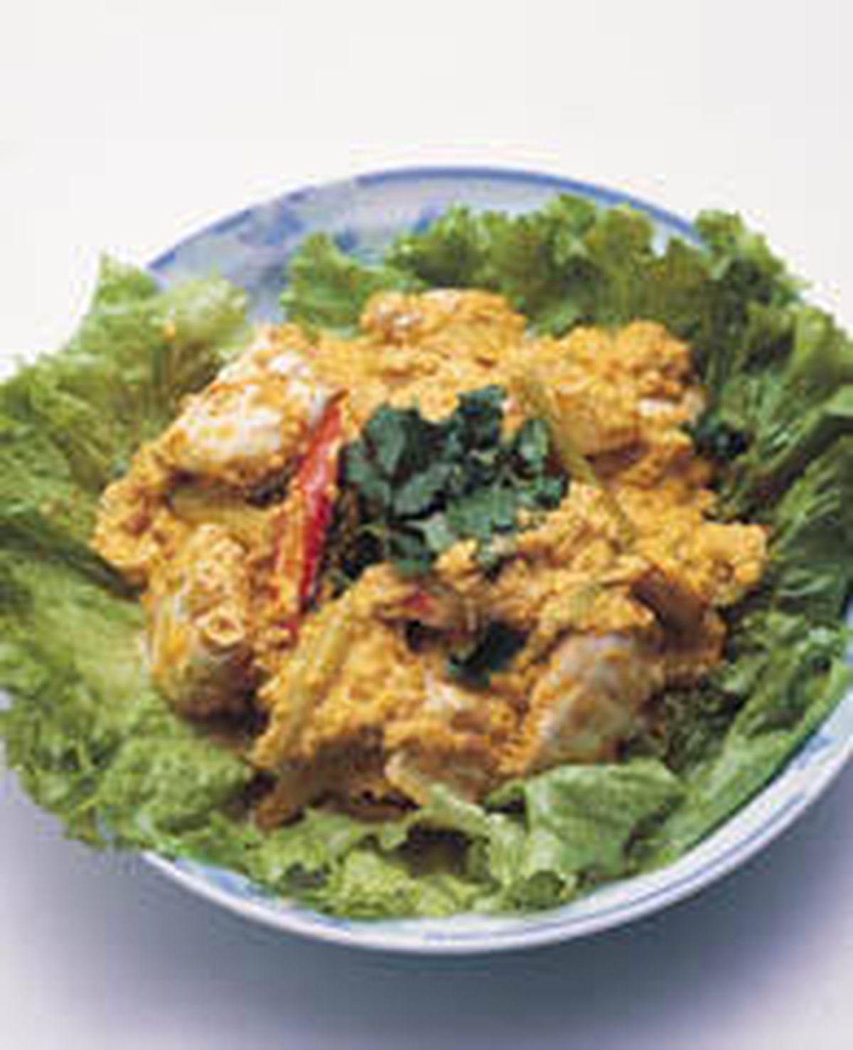 食譜:泰式咖哩螃蟹