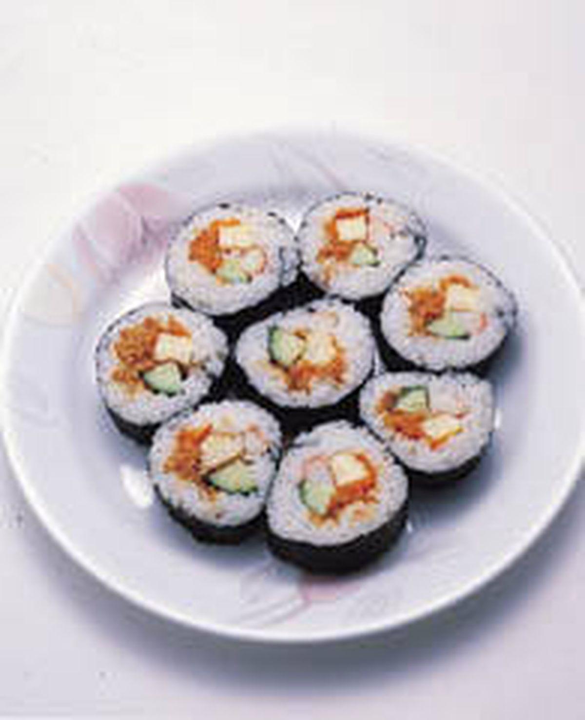 食譜:素花式壽司