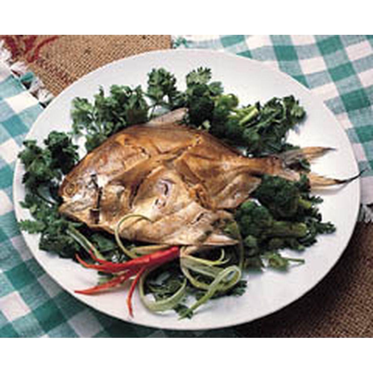 食譜:醺鯧魚