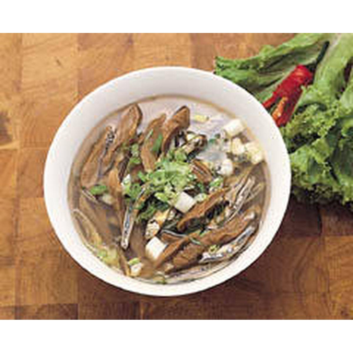 食譜:酸蘿蔔魚乾湯