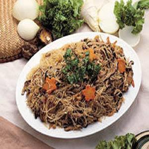 洋蔥炒米粉