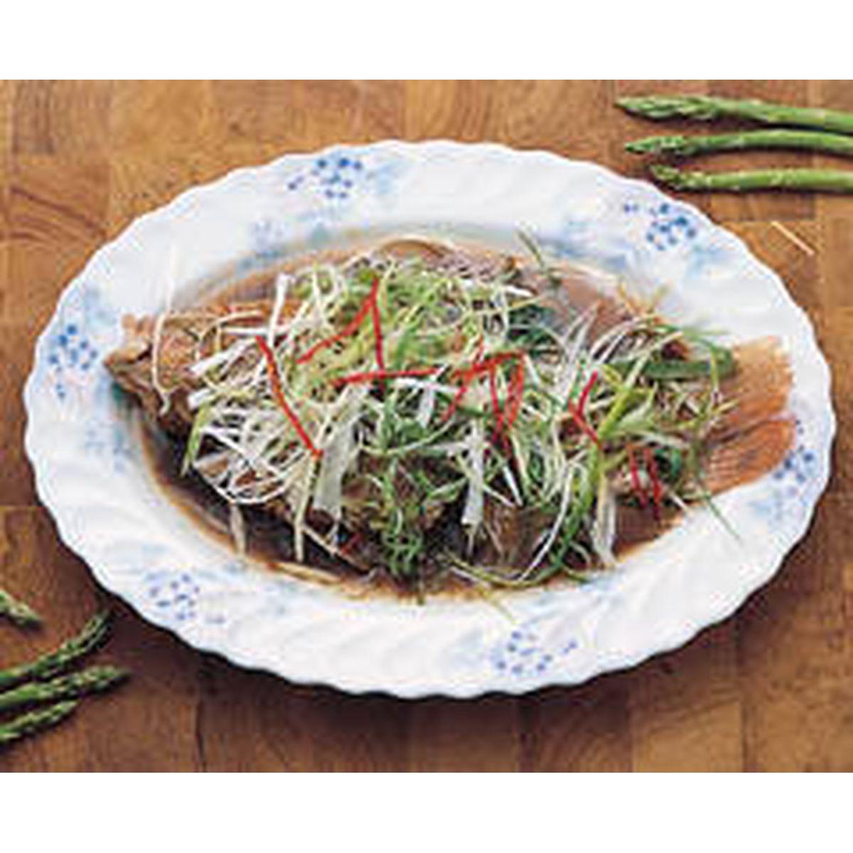 食譜:蔥爆尼羅魚