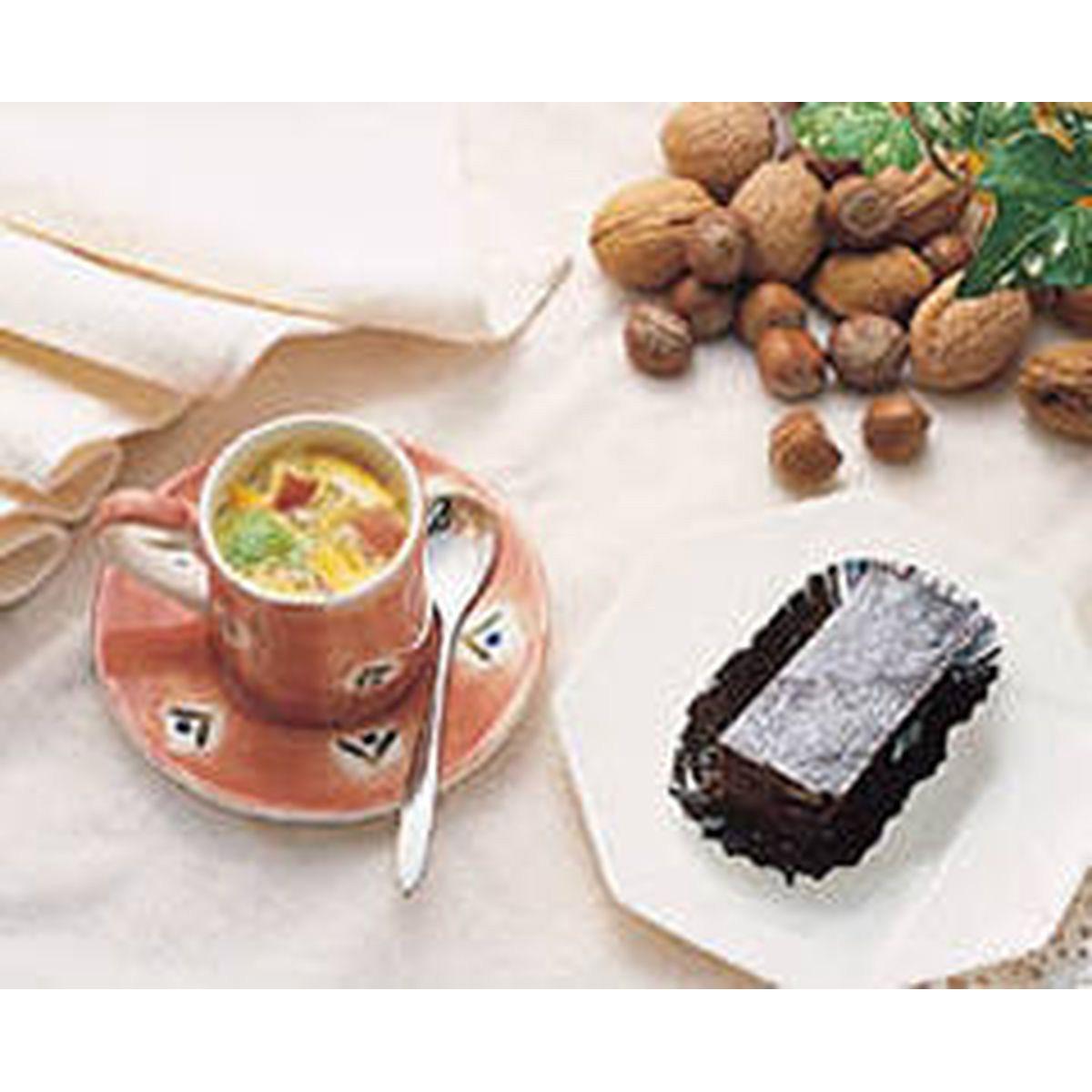 食譜:巧克力核桃蛋糕