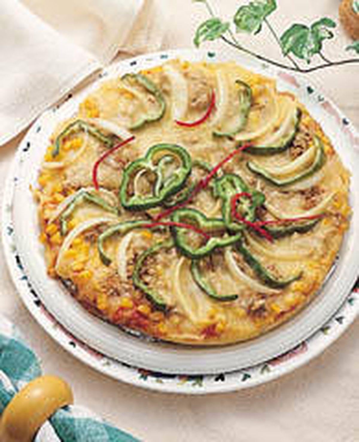 食譜:鮪魚披薩