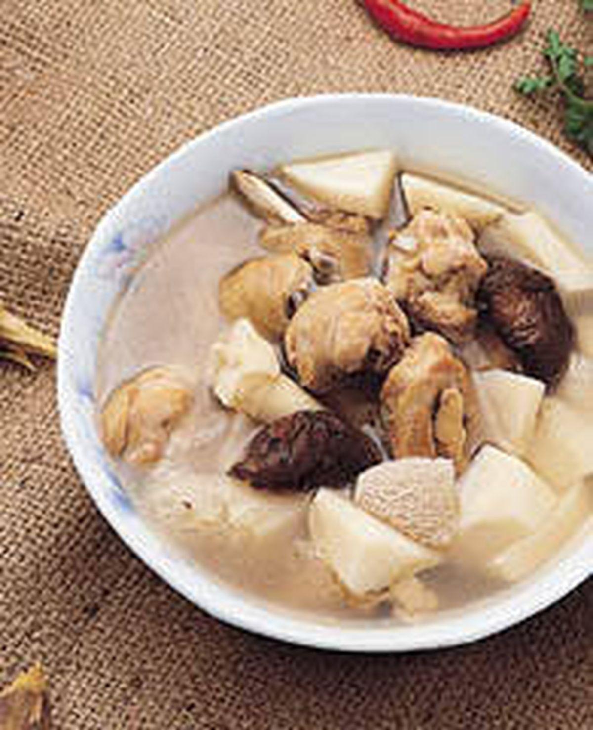食譜:竹筍雞