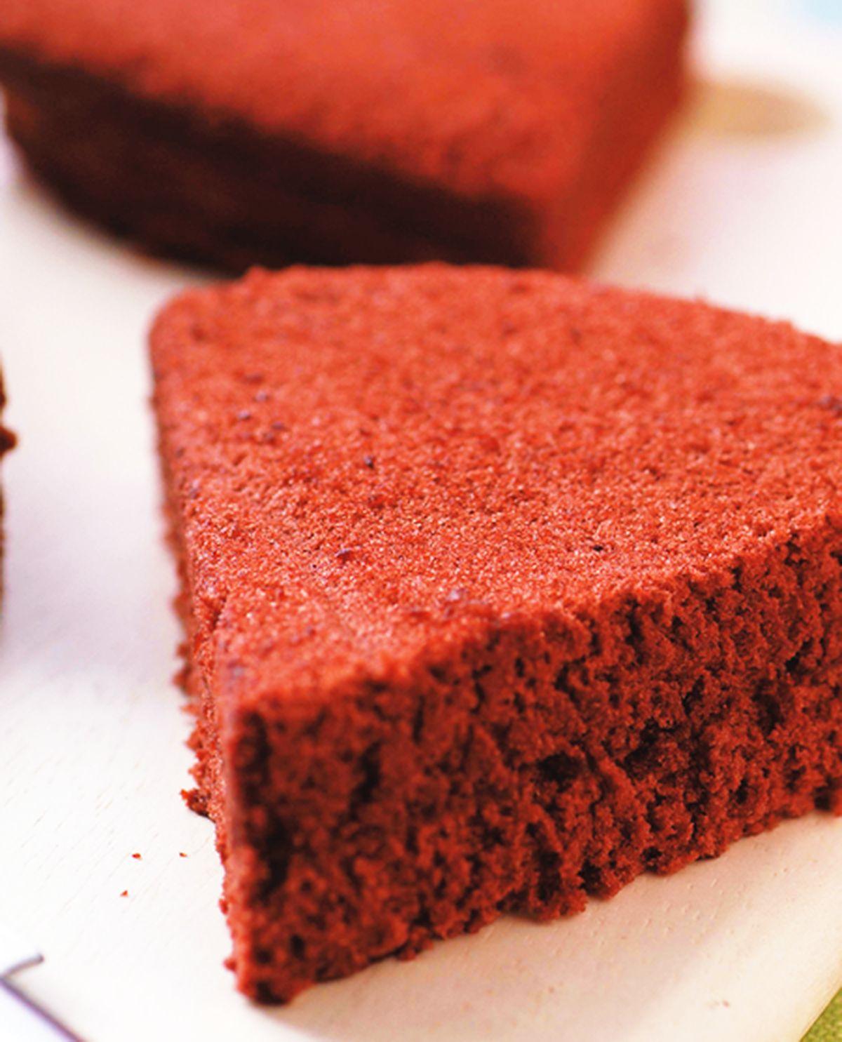 食譜:巧克力海綿蛋糕