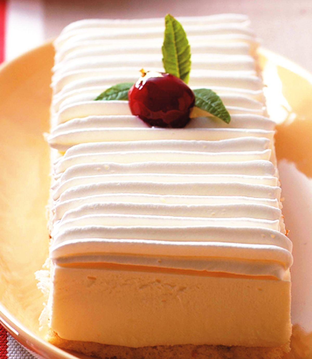 食譜:乳酪彌月蛋糕