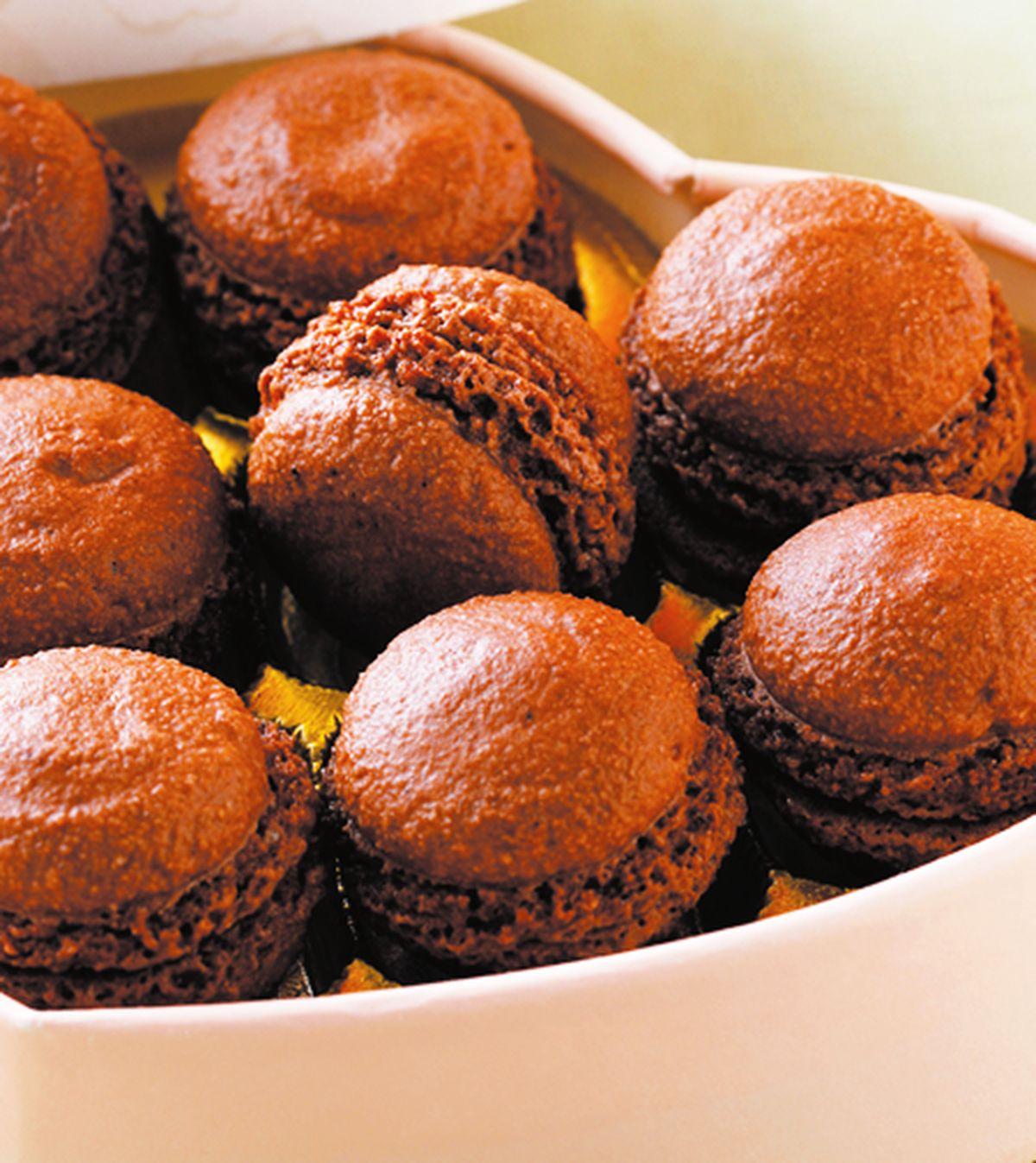 食譜:巧克力馬卡龍