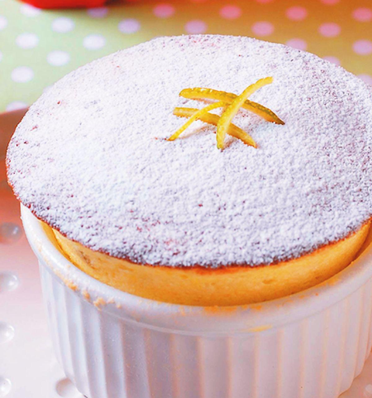 食譜:法式檸檬舒芙蕾