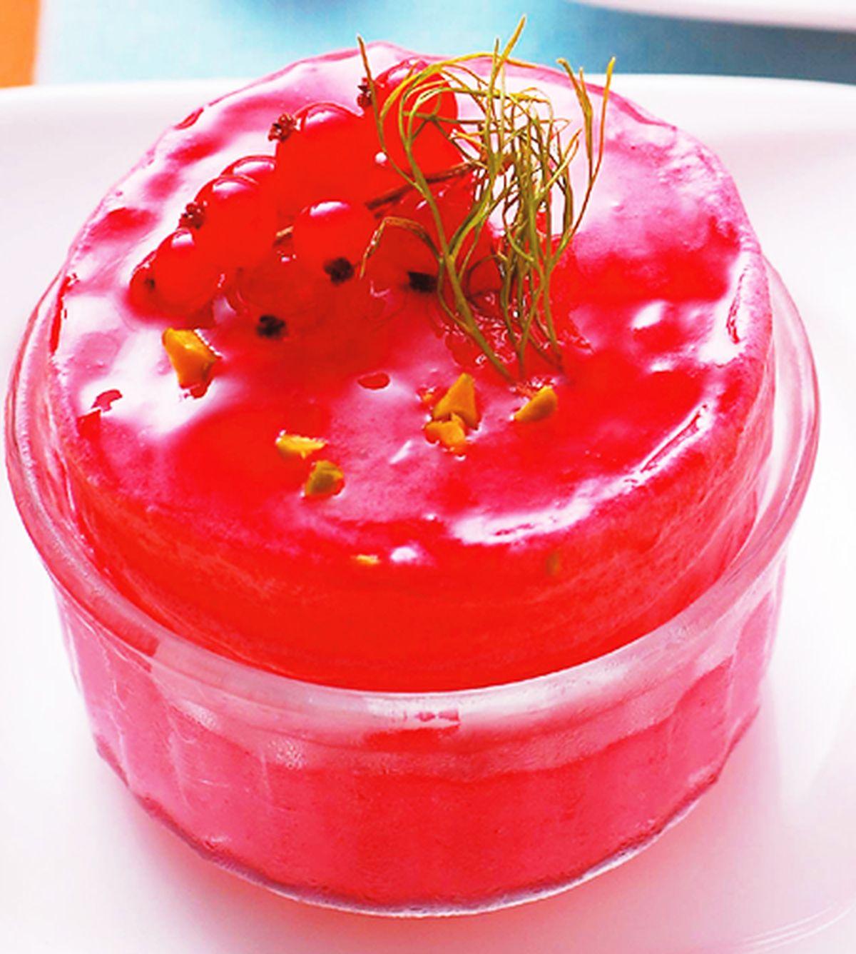 食譜:冰鎮野莓舒芙蕾