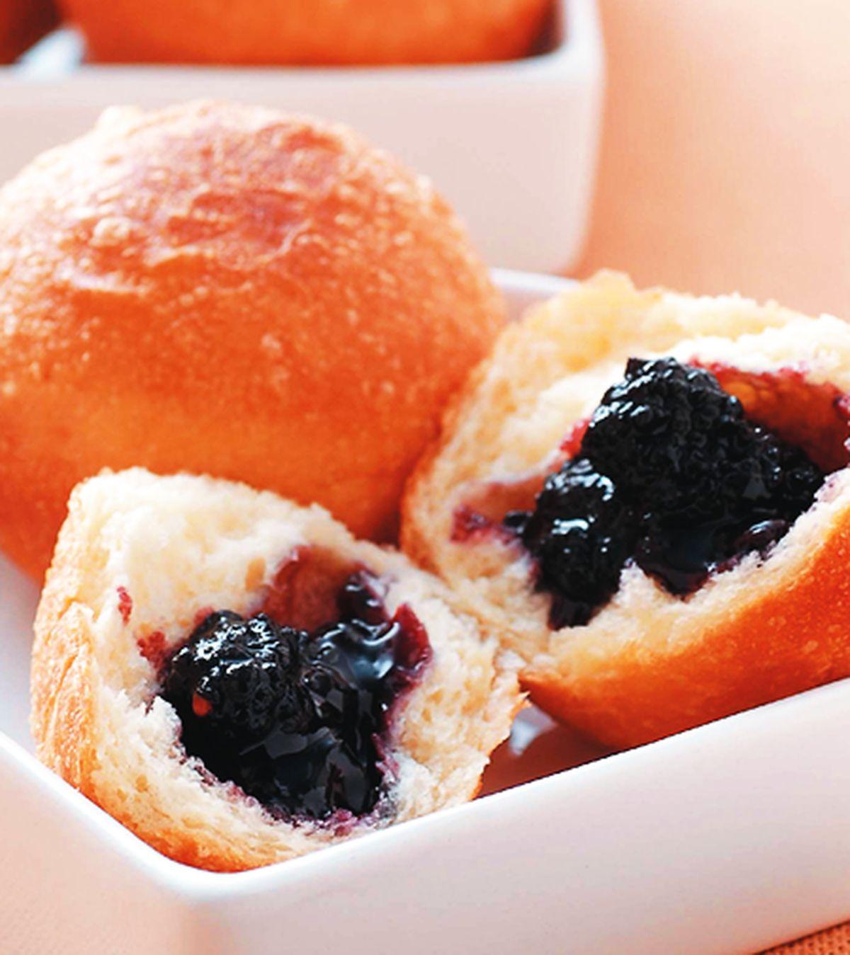 食譜:藍莓墨西哥球