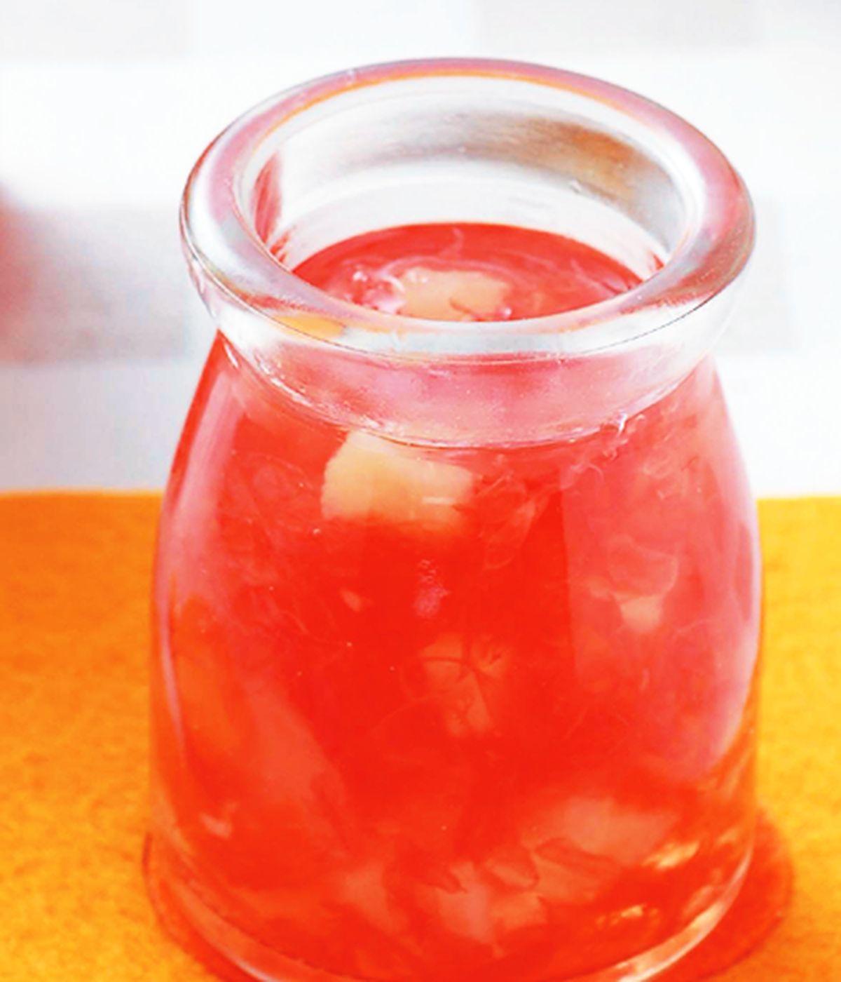 食譜:葡萄柚梨果醬