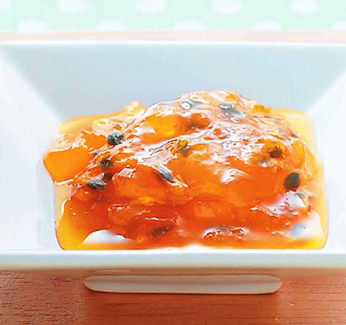 食譜:百香果梨果醬
