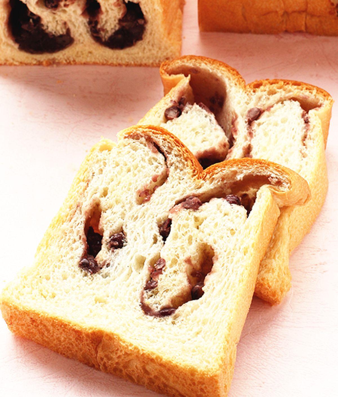 食譜:紅豆土司麵包