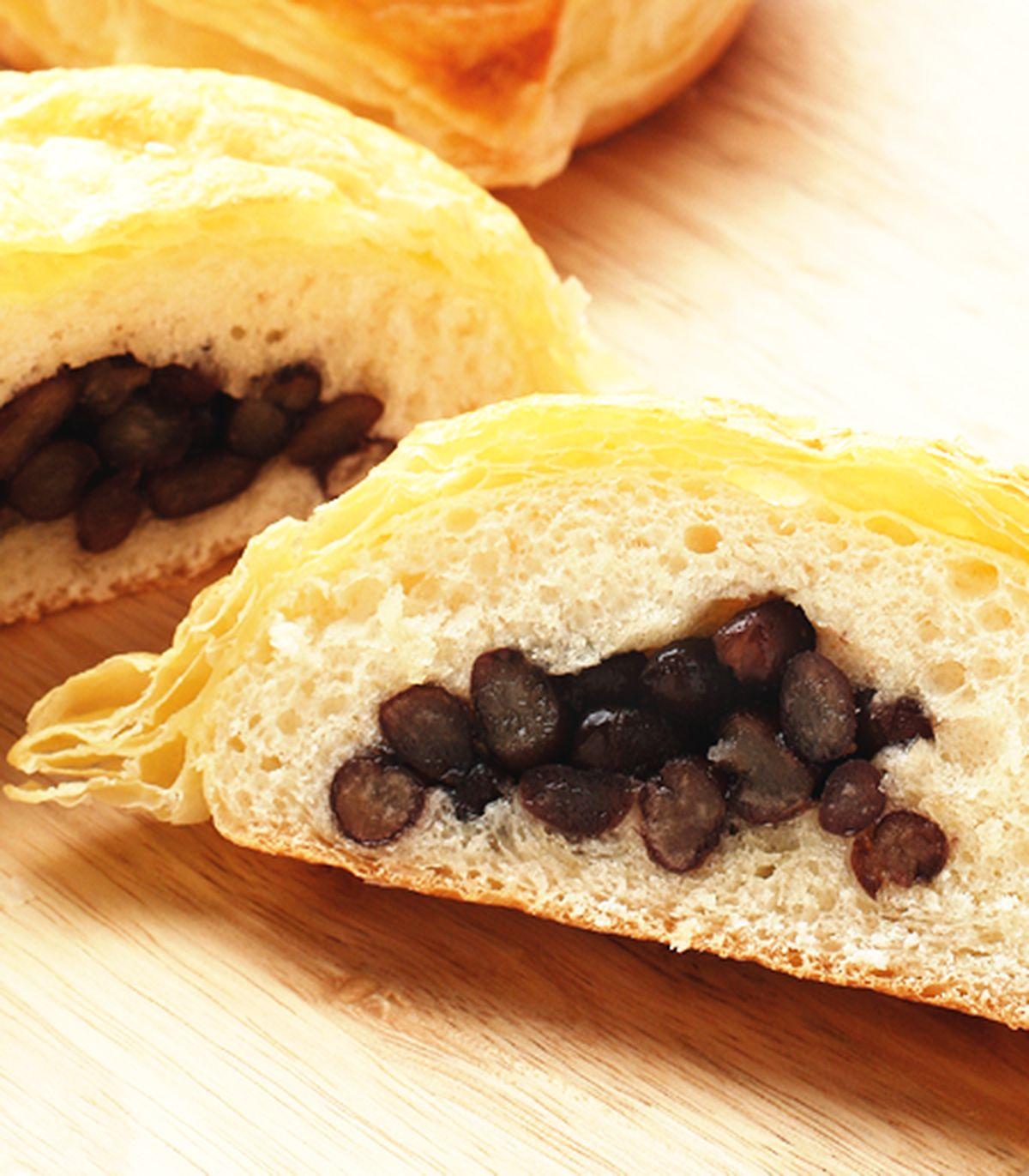 食譜:起酥紅豆麵包