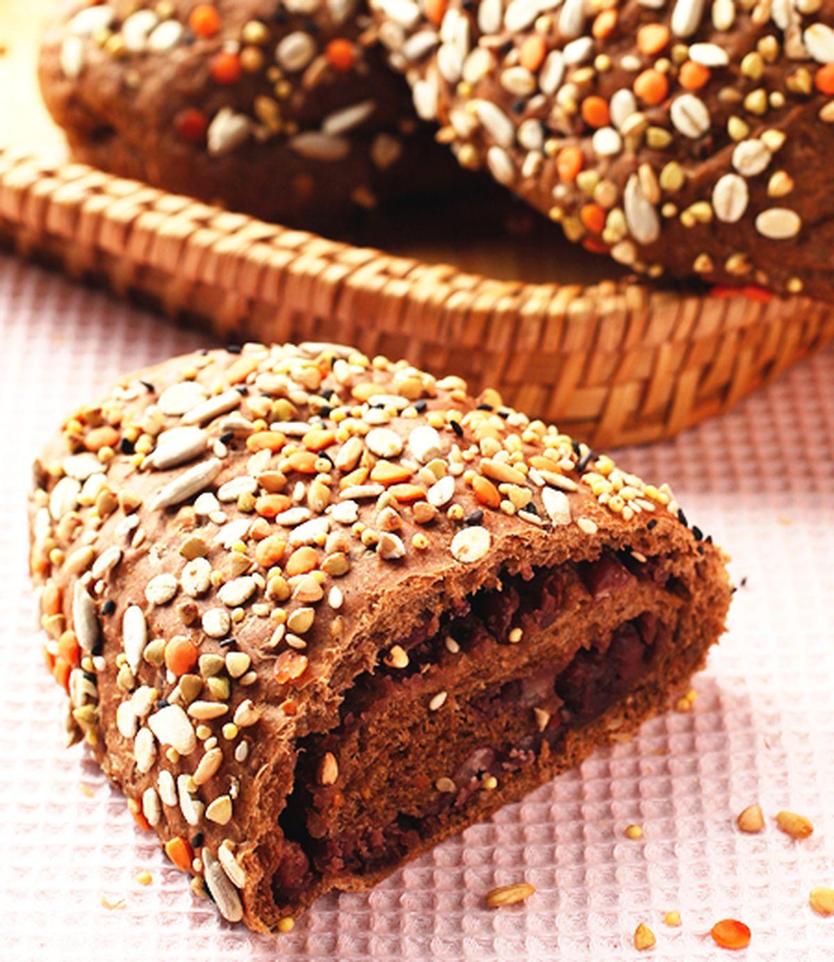 食譜:雜糧紅豆麵包